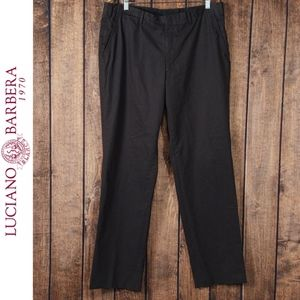 Brown Cotton Extraordinary Trousers Made in Italy